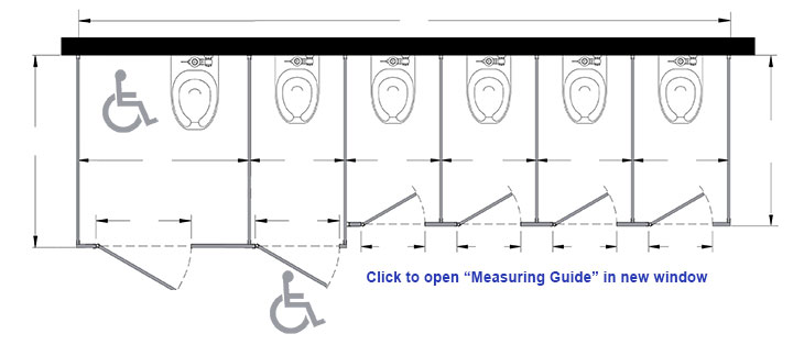 Toilet door revit toilet partitions houston unique - Ada bathroom stall door requirements ...