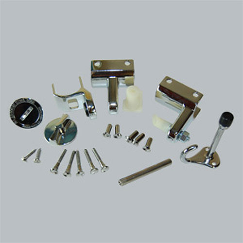 All american partitions toilet compartment door hardware set - Global bathroom partition hardware ...