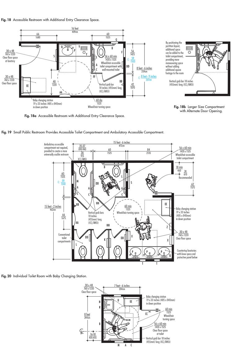 Custom 90 ada bathroom planning guide decorating for Bathroom planning guide