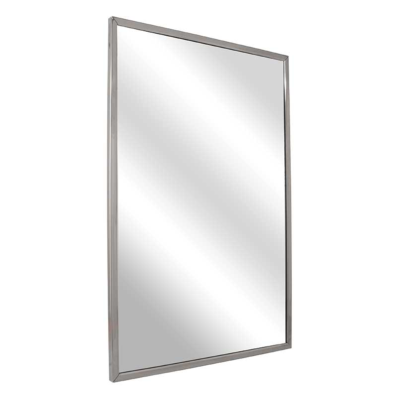 Bradley Channel Frame Mirror With 1 4 Float Glass