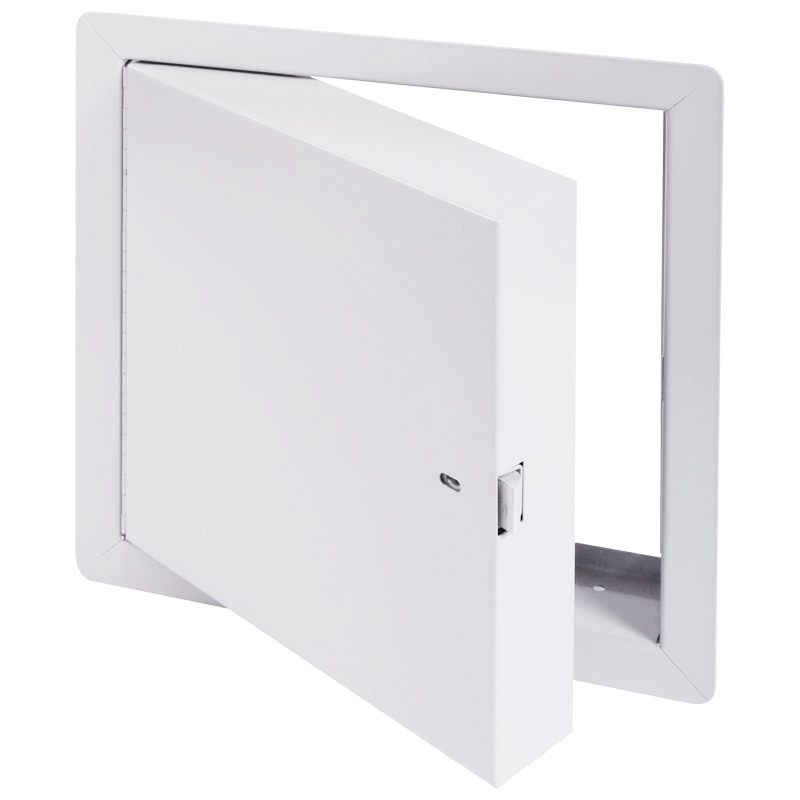 Fire Rated Access Doors : Cendrex insulated fire rated access door for walls and