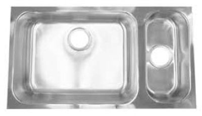 Stainless Steel Undermount Double Sink Sss3218dbuls